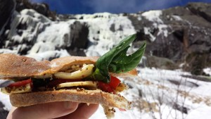 No-Mess Easy-To-Prepare Sandwiches for Hiking